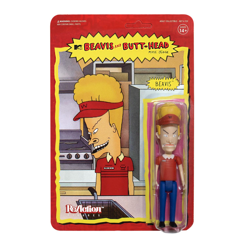 PRE-ORDER Beavis and Butt-Head reaction Figure - Burger World Beavis