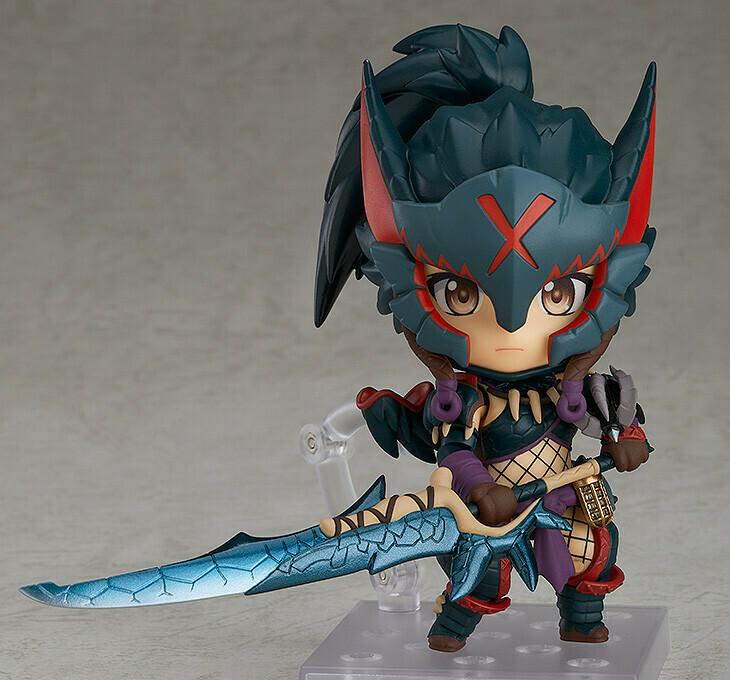PRE-ORDER Nendoroid Hunter: Female Nargacuga Alpha Armor Ver.