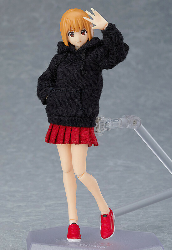 PRE-ORDER figma Female Body (Emily) with Hoodie Outfit