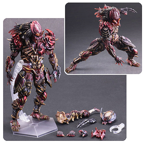 Predator Variant Version Play Arts Kai Action Figure
