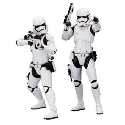 Star Wars: Episode VII - The Force Awakens First Order Stormtrooper ArtFX+ Statue 2-Pack