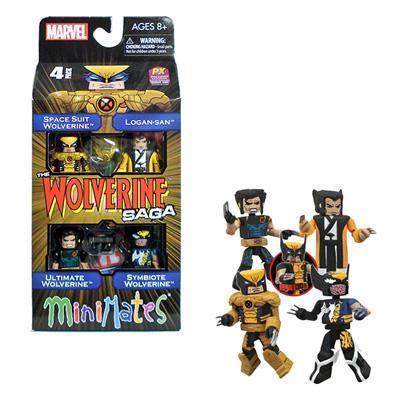SDCC 2013 Wolverine Saga Minimates Box Set