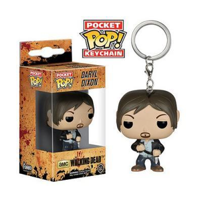 The Walking Dead Daryl Dixon Pop! Vinyl Figure Keychain