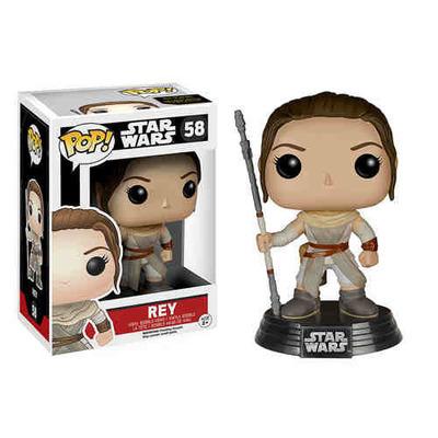 Star Wars: The Force Awakens Rey Pop! Vinyl Bobble Head