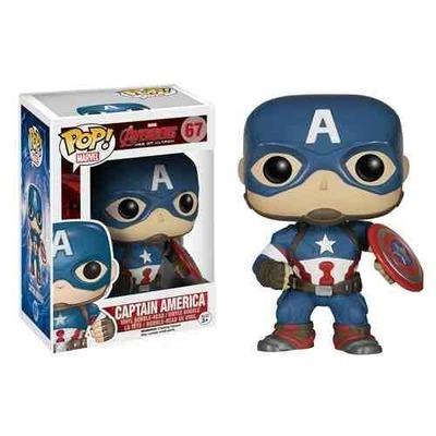 Avengers Age of Ultron Captain America Pop! Vinyl Bobble Head Figure