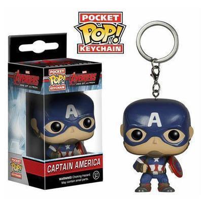 Avengers Age of Ultron Captain America Pocket Pop! Vinyl Figure Keychain