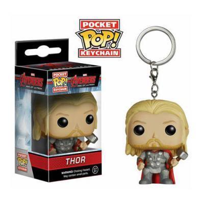 Avengers Age of Ultron Thor Pocket Pop! Vinyl Figure Keychain