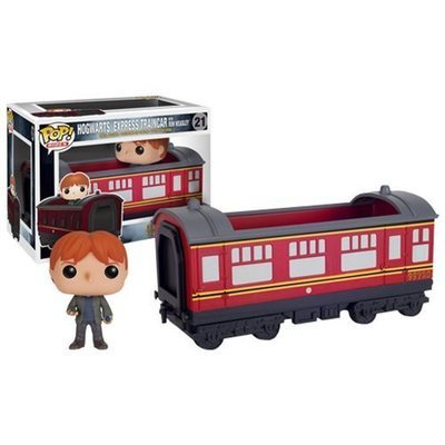 Harry Potter Hogwarts Express Vehicle with Ron Weasley Pop! Vinyl Figure