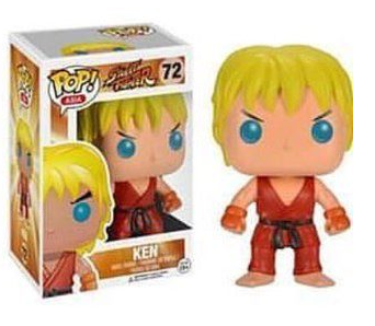 Street Fighter Ken Funko POP! Vinyl Figure
