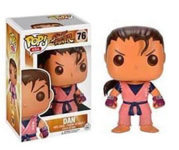 Street Fighter Dan Funko POP! Vinyl Figure