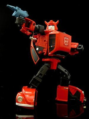 Takara Transformer MP-21R Bumble Red Body with coin
