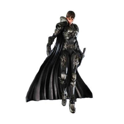 Superman Man of Steel Play Arts KAI Faora-Ul  Action Figure