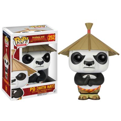 Kung Fu Panda Po with Hat Pop! Vinyl Figure