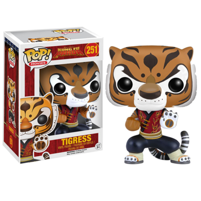 Kung Fu Panda Tigress Pop! Vinyl Figure