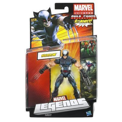 Marvel Legends Hit Monkey Series X-Force Wolverine Action Figure
