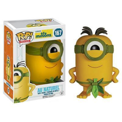 Minions Movie Au Naturel Pop! Vinyl Figure