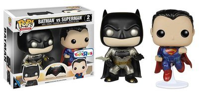 FUNKO POP! BATMAN VS SUPERMAN TRU EXCLUSIVE 30%OFF