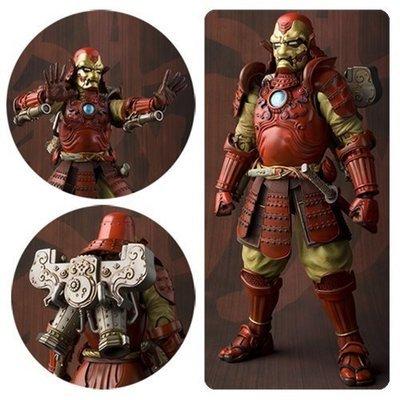 Samurai Iron Man Mark 3 Meisho Manga Realization Action Figure