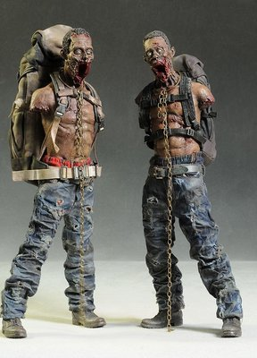 Walking Dead 1/6 Michonne's Pets 2 pack