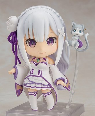 Re:ZERO -Starting Life in Another World- Emilia Nendoroid Action Figure