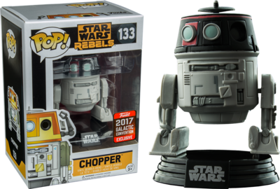 Star Wars: Rebels - Imperial Disguise Chopper Pop! Vinyl Figure (2017 Galactic Convention Exclusive)