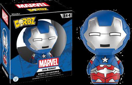 Iron Man - Iron Patriot Dorbz Vinyl Figure