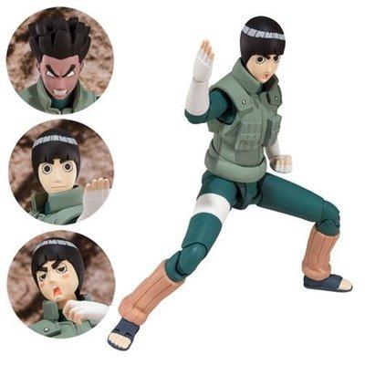 Naruto Shippuden Rock Lee SH Figuarts Action Figure