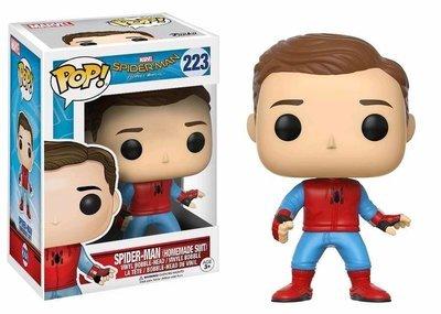 Spider-Man: Homecoming - Spider-Man Homemade Suit Unmasked Exclusive Pop! Vinyl