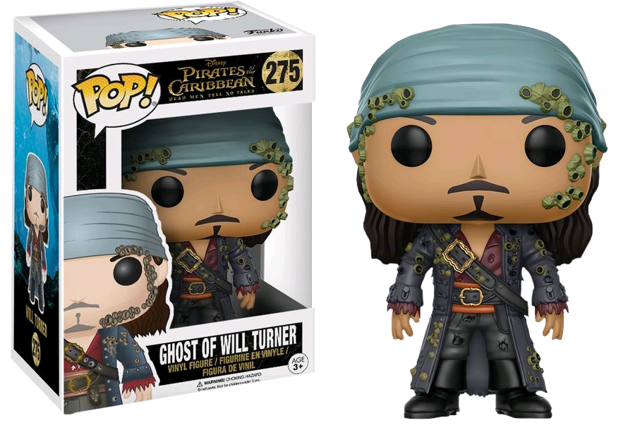Pirates of the Caribbean 5: Dead Men Tell No Tales - Ghost of Will Turner Pop! Vinyl Figure
