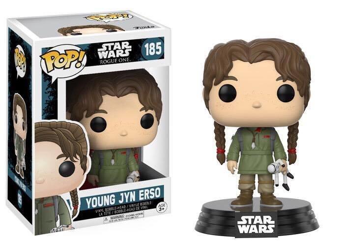 Star Wars Rogue One - Young Jyn Erso Pop! Vinyl Figure