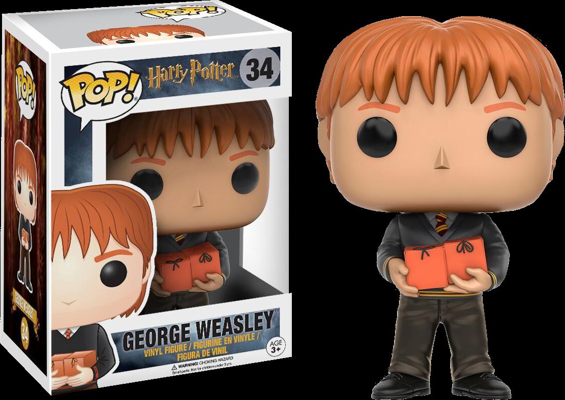 PRE-ORDER Harry Potter - George Weasley Pop! Vinyl Figure