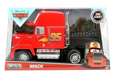 Diecast Metal 1:24 Disney Cars Mack Truck