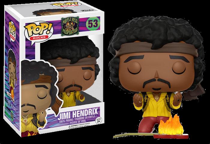 SPECIAL ORDER Jimi Hendrix - Monterey Exclusive Pop! Vinyl Figure