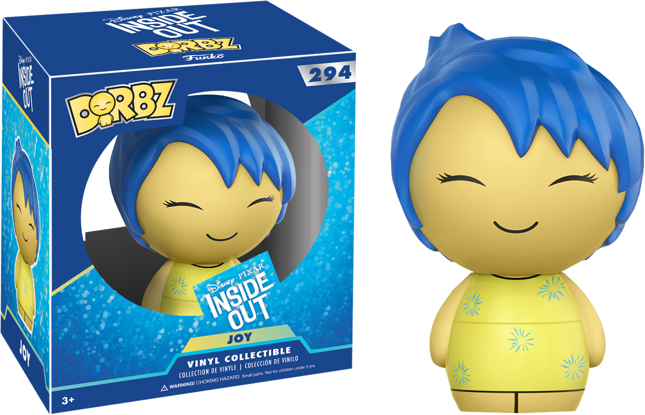 Inside Out - Joy Dorbz Vinyl Figure