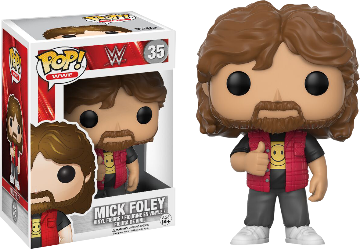 WWE - Mick Foley Pop! Vinyl Figure