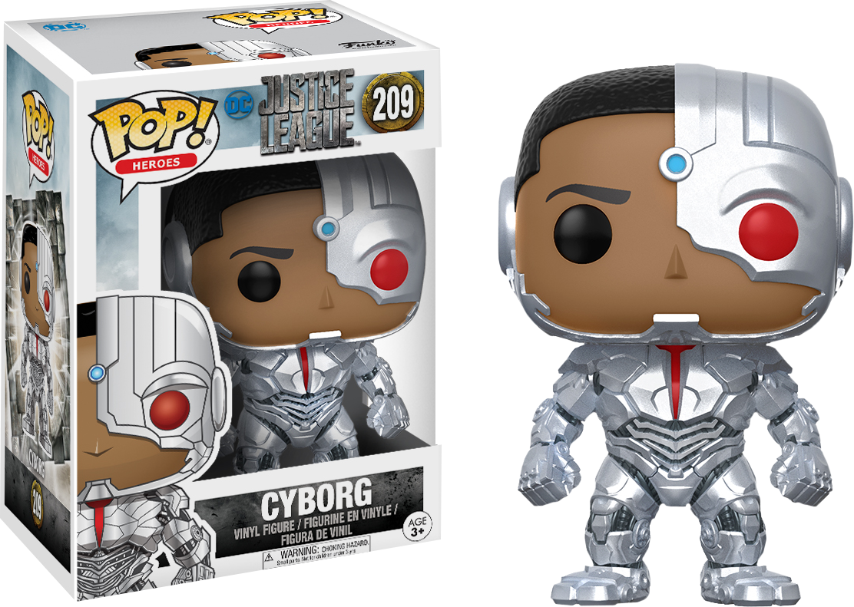 Justice League 2017 - Cyborg Pop! Vinyl Figure