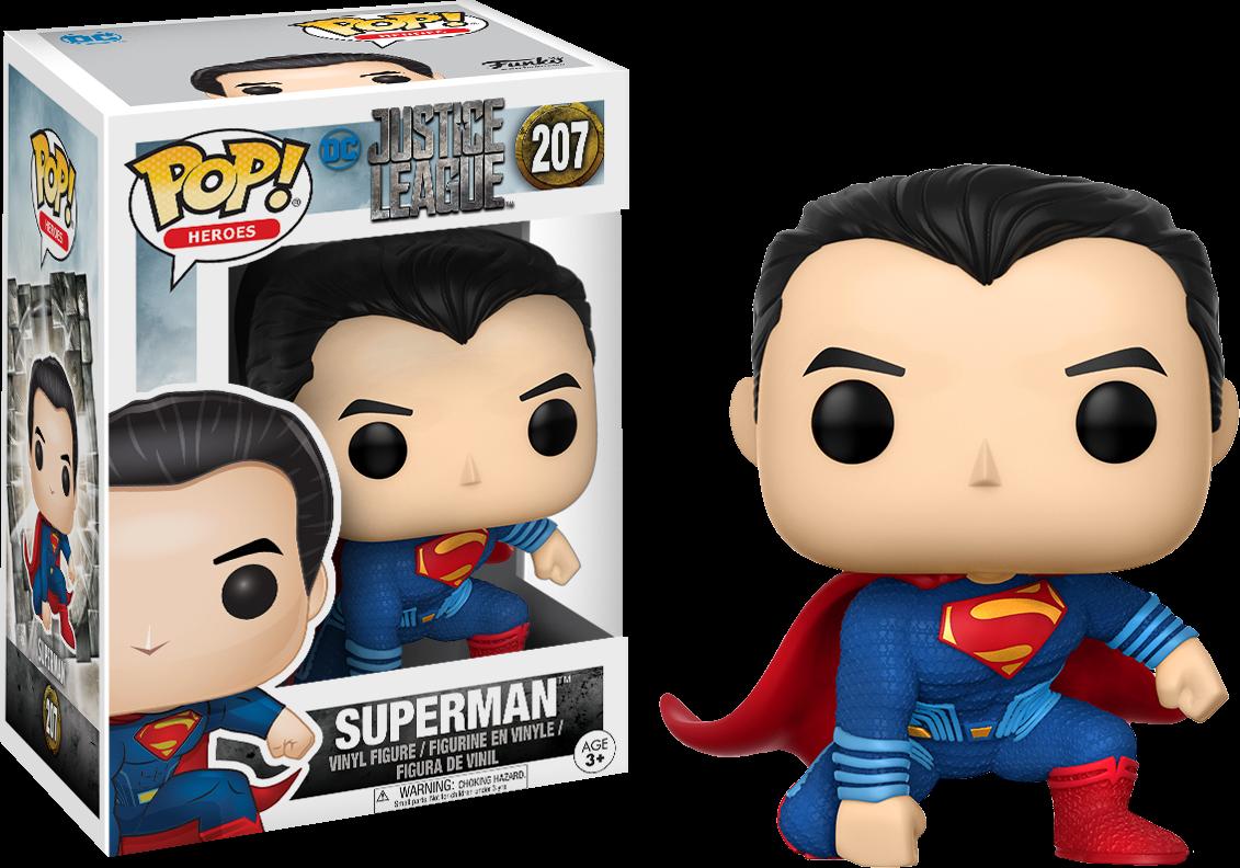 Justice League 2017 - Superman Pop! Vinyl Figure
