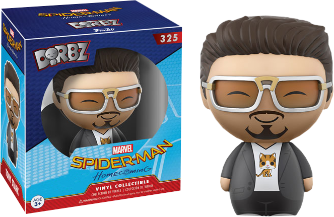 PRE-ORDER Spider-Man: Homecoming - Tony Stark Dorbz Vinyl Figure