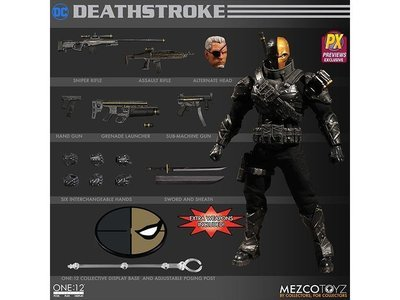 One: 12 Collective DC Stealth Deathstroke PX Preview Exclusive Action Figure