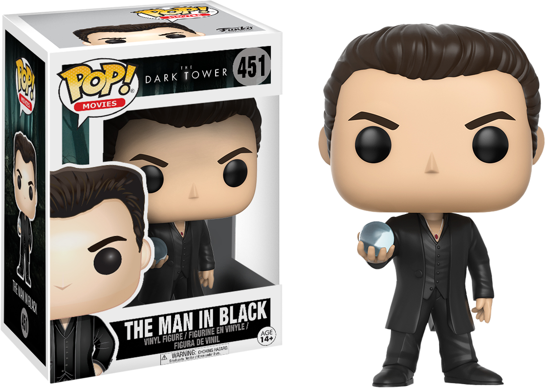 PRE-ORDER The Dark Tower - The Man in Black Pop! Vinyl Figure