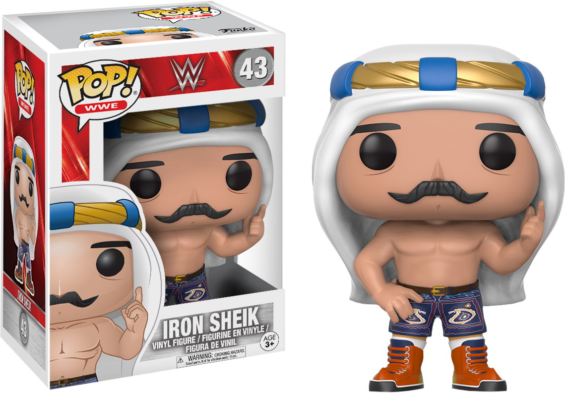 WWE - Iron Sheik Pop! Vinyl Figure