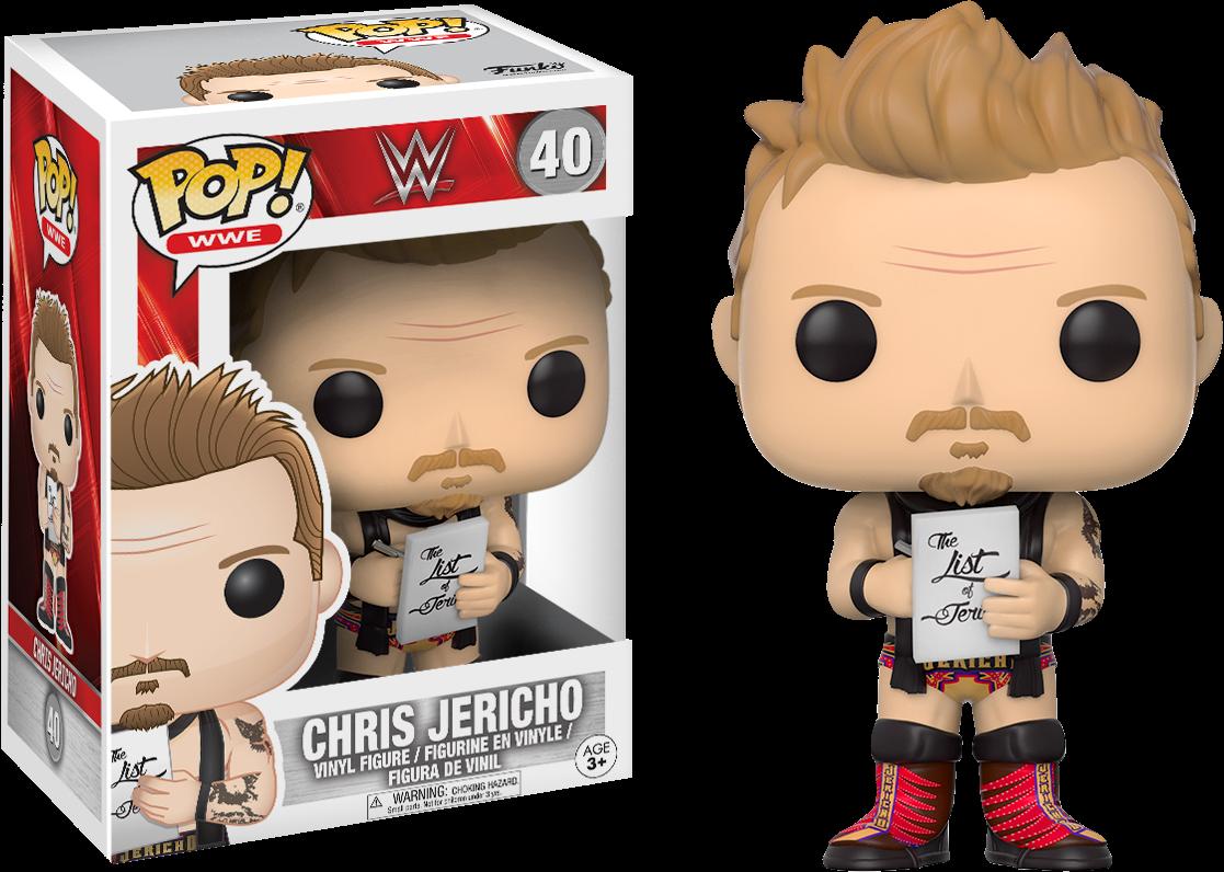 WWE - Chris Jericho Pop! Vinyl Figure
