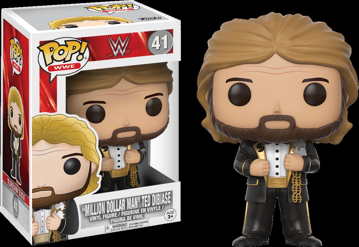 WWE - Million Dollar Man Ted DiBiase Pop! Vinyl Figure
