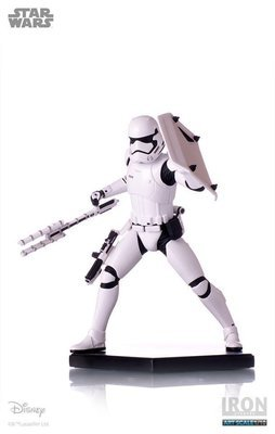 Star Wars Riot Control Stormtrooper 1/10 Art  Scale