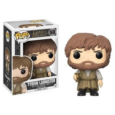 Game of Thrones Tyrion Lannister with Beard Pop! Vinyl Figure