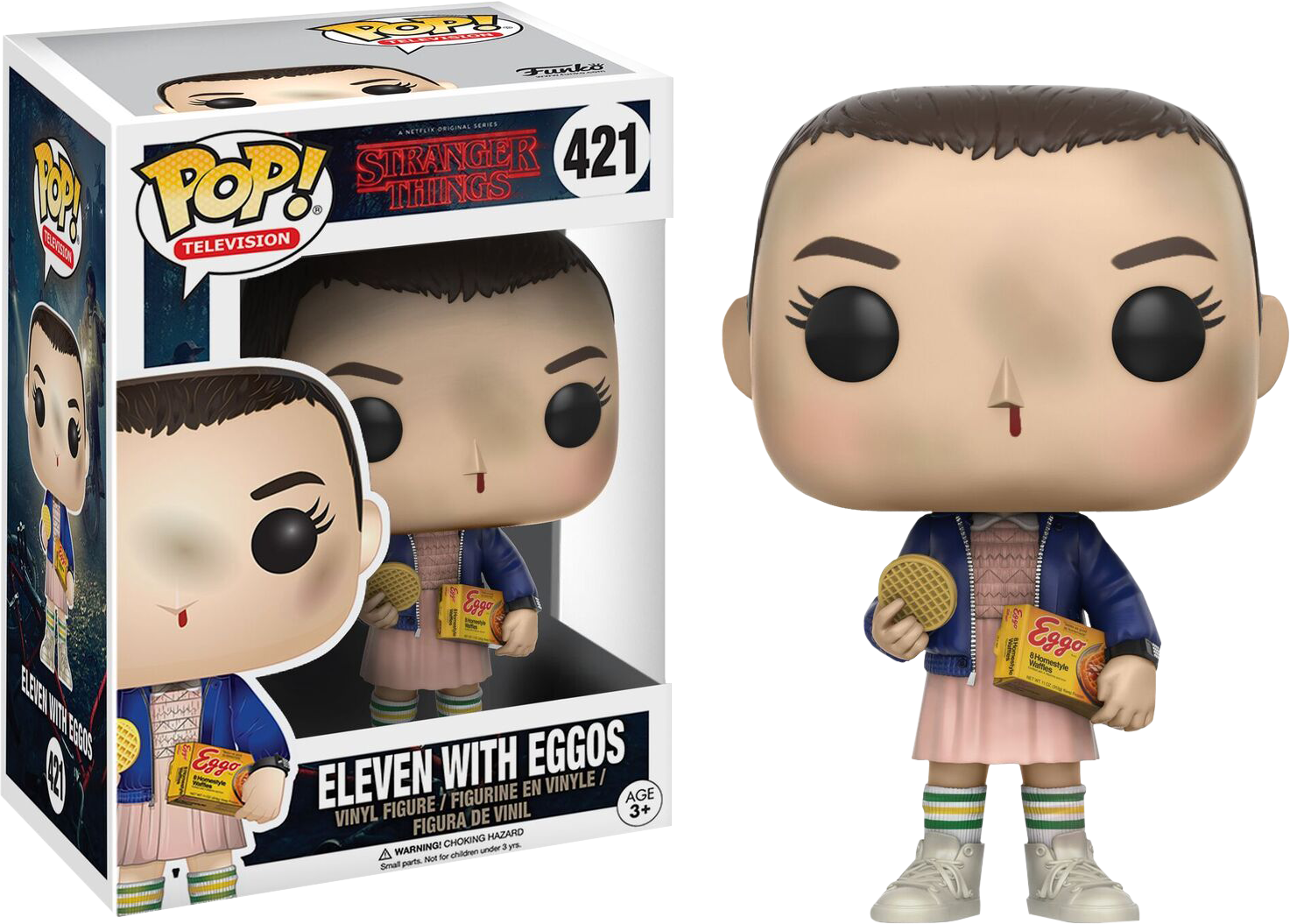 Stranger Things - Eleven with Eggos Pop! Vinyl Figure