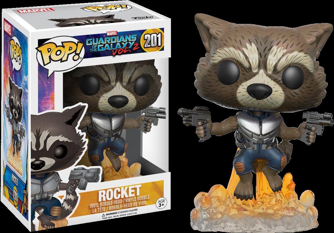 Guardians of the Galaxy: Vol 2 - Rocket Pop! Vinyl Figure