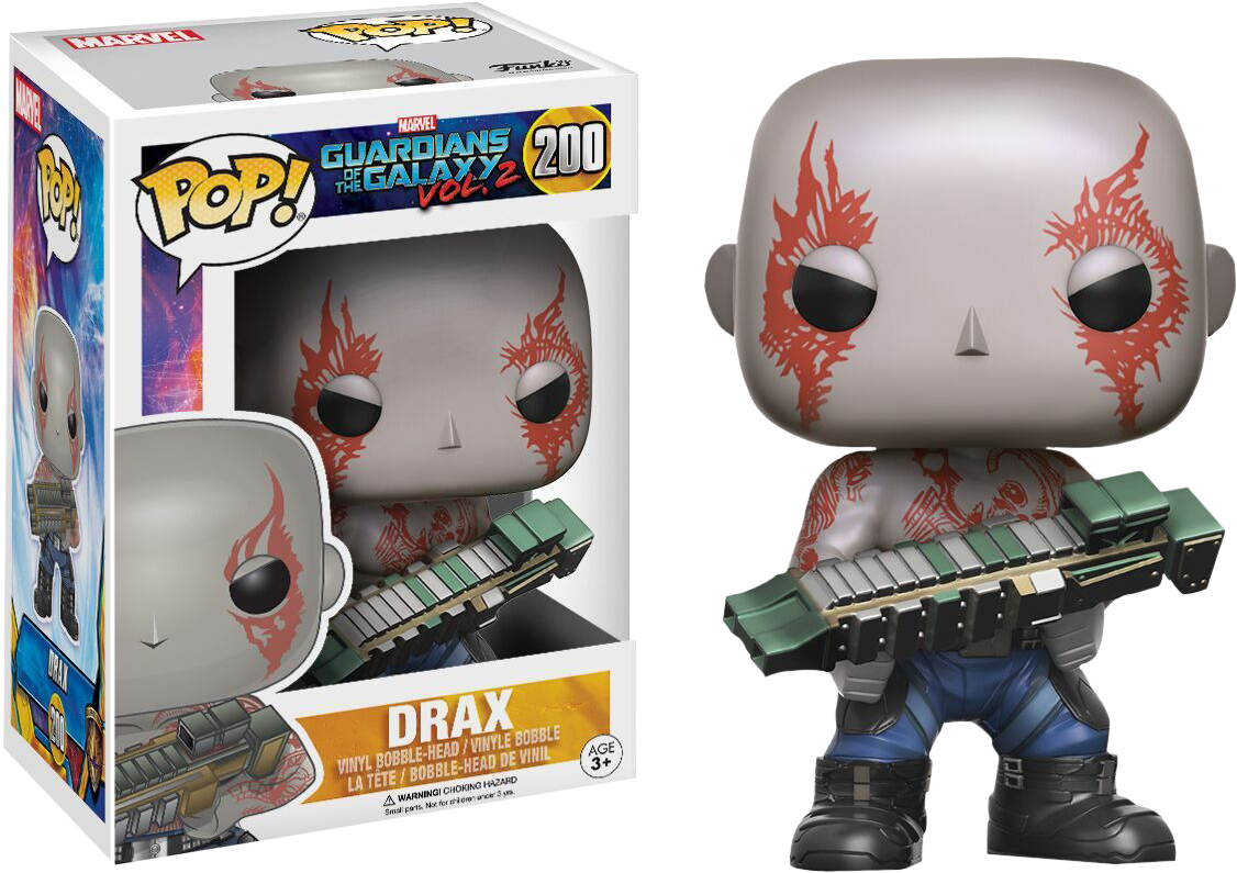 Guardians of the Galaxy: Vol 2 - Drax Pop! Vinyl Figure