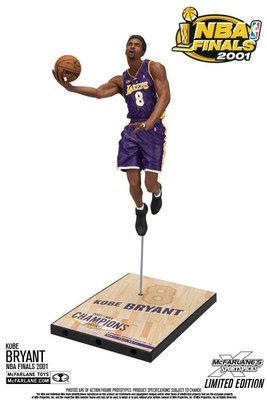 NBA Kobe Bryant NBA Finals 2001