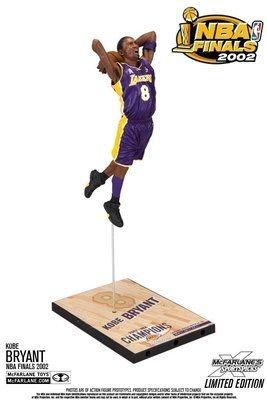 NBA Kobe Bryant NBA Finals 2002